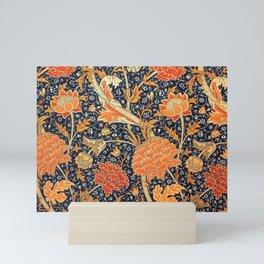 William Morris Cray Floral Art Nouveau Pattern Mini Art Print