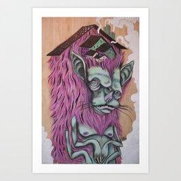 """""""Monster Home"""" Art Print"""