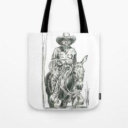Mule Wrangler Tote Bag