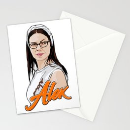 Queen Alex Vause Stationery Cards
