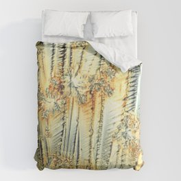 Vitamin C Sources for Happiness Duvet Cover