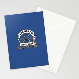 American Civil War Champions - Northern Pride - The Union - Parody Shirt Stationery Cards