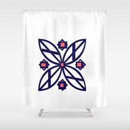 Abby Flower Shower Curtain