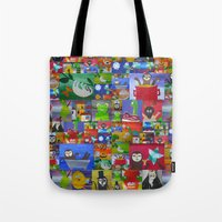 sloths Tote Bags featuring sloths by Cathy Jacobs