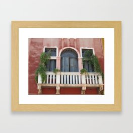 Secret Doorway Framed Art Print