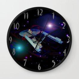 Enterprise NCC 1701 Wall Clock