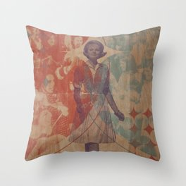 The Triumphal Entry Throw Pillow