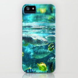 Up Close & Personal With Fish iPhone Case