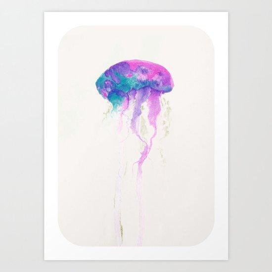Jellyfish #1 Art Print