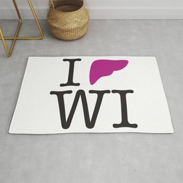 I Liver Wisconsin Rug