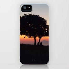An African Sunset iPhone Case
