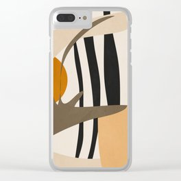 Abstract Art2 Clear iPhone Case