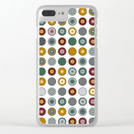 Circles Too Clear iPhone Case