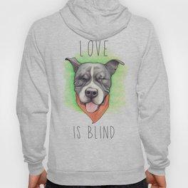 Pitbull - Love is blind - Stevie the wonder dog Hoody