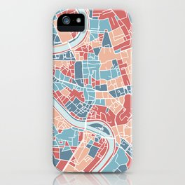 Rome map iPhone Case