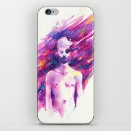 Empty sky iPhone Skin