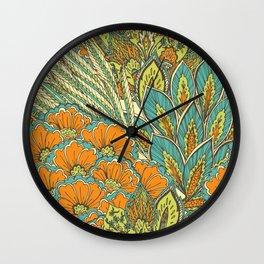 Abundance II Wall Clock