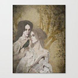 Sœurs de la Nuit Canvas Print