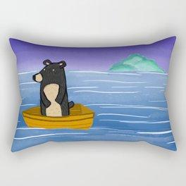 Ocean Bear Rectangular Pillow