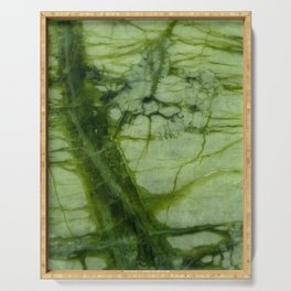 Green Marble Serving Tray
