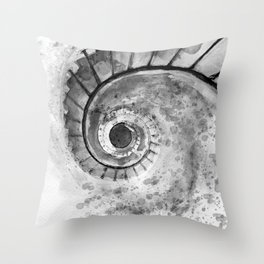 PROLOGUE: The Spiral Staircase Throw Pillow