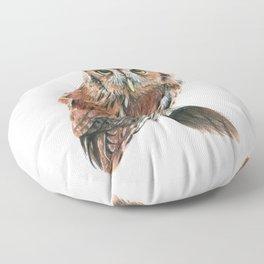 Screech Owl Floor Pillow