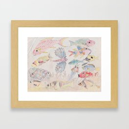 Seychelles Fish 2 Framed Art Print