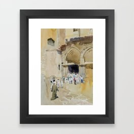 Church of the Holy Sepulchre Framed Art Print