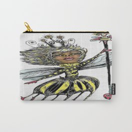 Queen Bee of Color Carry-All Pouch