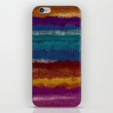 Knit stripes iPhone & iPod Skin