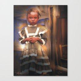 Gentle Dignity / Portrait / Haiti Canvas Print