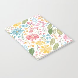 Such Pretty Summer Flowers Notebook