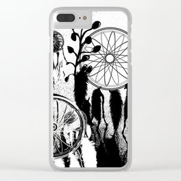 Dreamcatcher Fever Clear iPhone Case