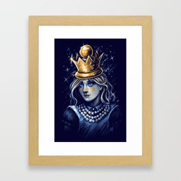 Queen Alice Framed Art Print
