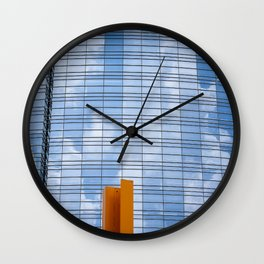 transport of delight Wall Clock