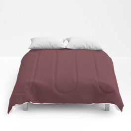 SOLID MAUVE COLOR Comforters