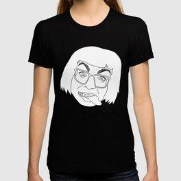 STAY WEIRD (black & white) T-shirt