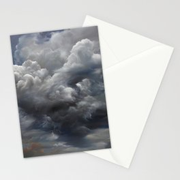 Burning Sky Stationery Cards