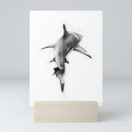 Shark II Mini Art Print
