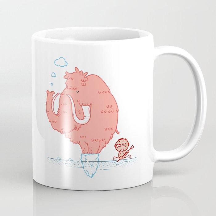 Pink Mammoth Coffee Mug