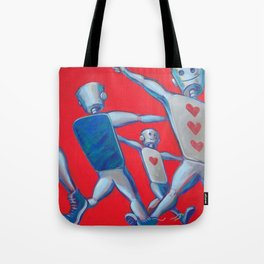 Our hearts march on Tote Bag
