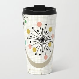 Mid Century Modern Starbursts 1a Travel Mug