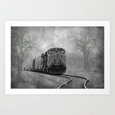 The Train Art Print