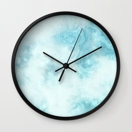 Iced Marble Wall Clock