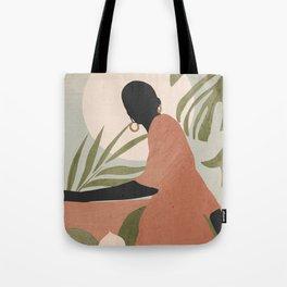 Tropical Girl 21 Tote Bag