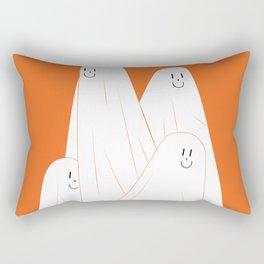 Cute ghost clip art, Independence fun art, Halloween clip art haunted spooky digital designs . Rectangular Pillow