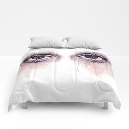 Bloodshot Eyes Doodle  Comforters