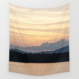 a simple sunset Wall Tapestry
