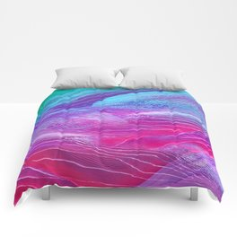 moutain#glitch Comforters