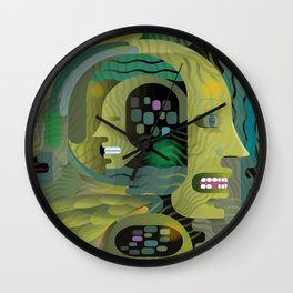 Race Against Time Wall Clock